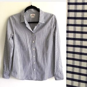 J. CREW Haberdashery Checked Button Down Shirt S